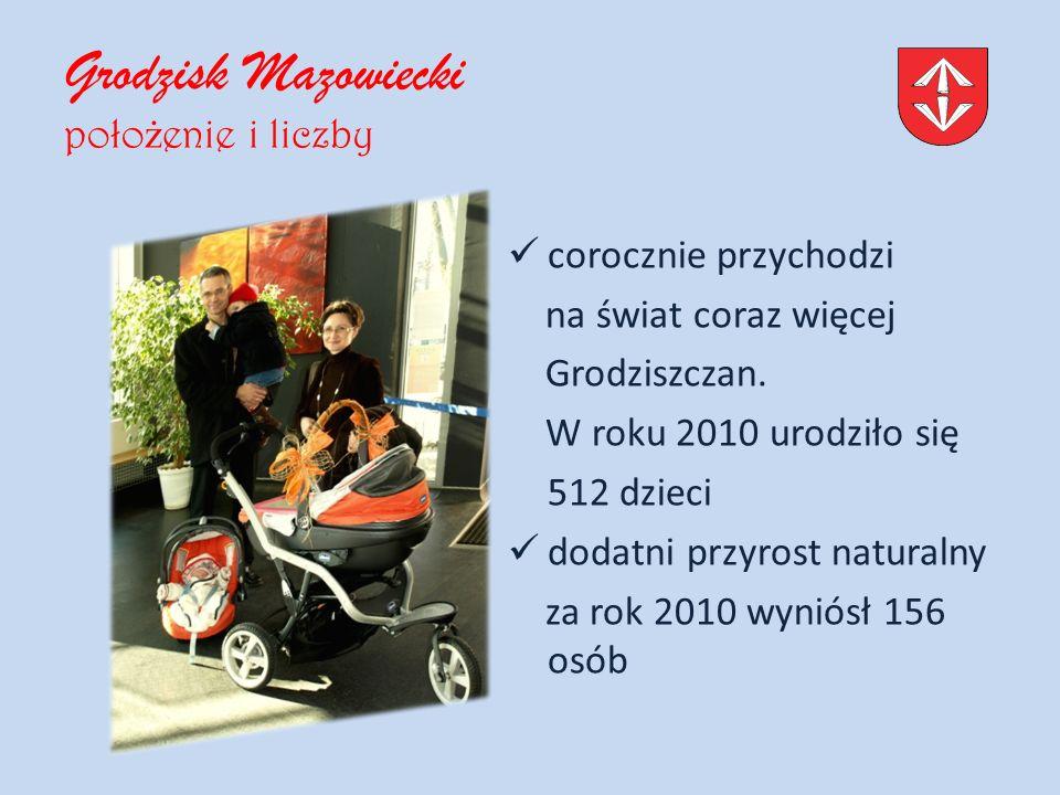 Grodzisk Mazowiecki poło ż enie i liczby corocznie przychodzi na świat coraz więcej Grodziszczan.