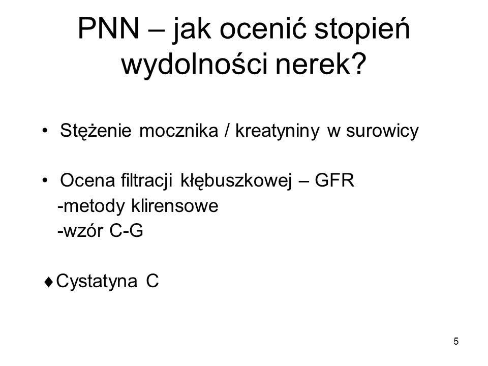 6 PNN – jak ocenić stopień wydolności nerek.