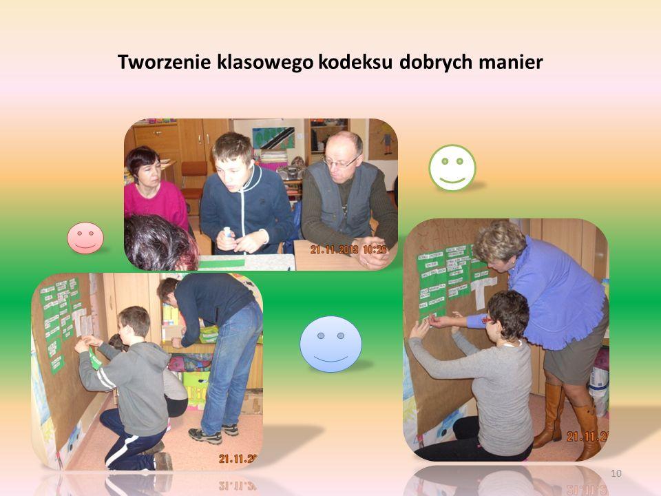 Tworzenie klasowego kodeksu dobrych manier 10