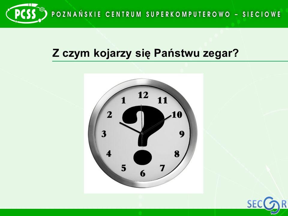 Z czym kojarzy się Państwu zegar?