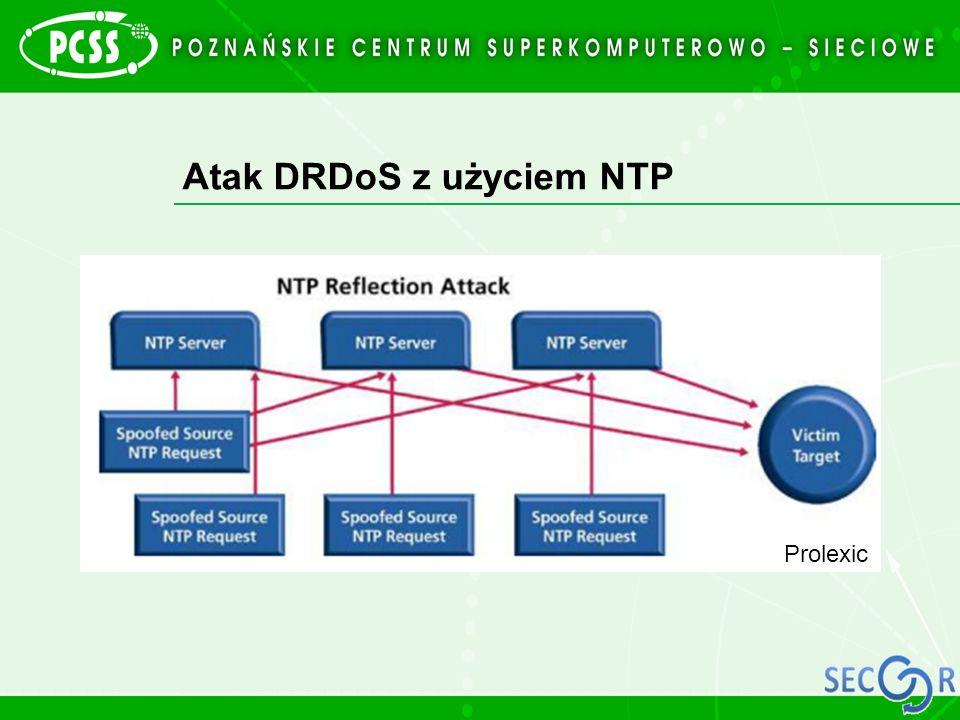 Atak DRDoS z użyciem NTP Prolexic