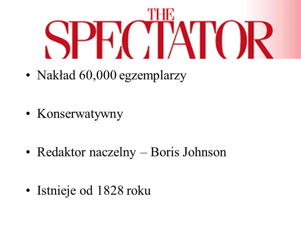 Tygodnik ukazujący się w niedzielę Nakład - 440,000 egzemplarzy Istnieje od 4 grudnia 1791 roku Socjal-liberalno demokratyczna