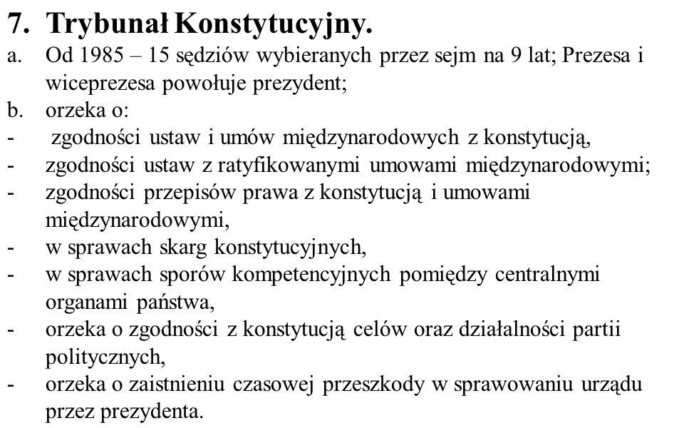 7.Trybunał Konstytucyjny.