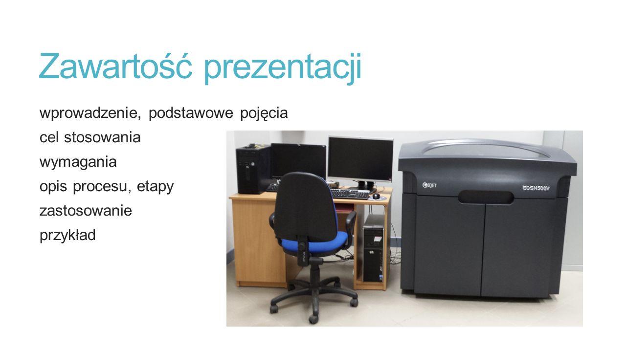 Zawartość prezentacji wprowadzenie, podstawowe pojęcia cel stosowania wymagania opis procesu, etapy zastosowanie przykład