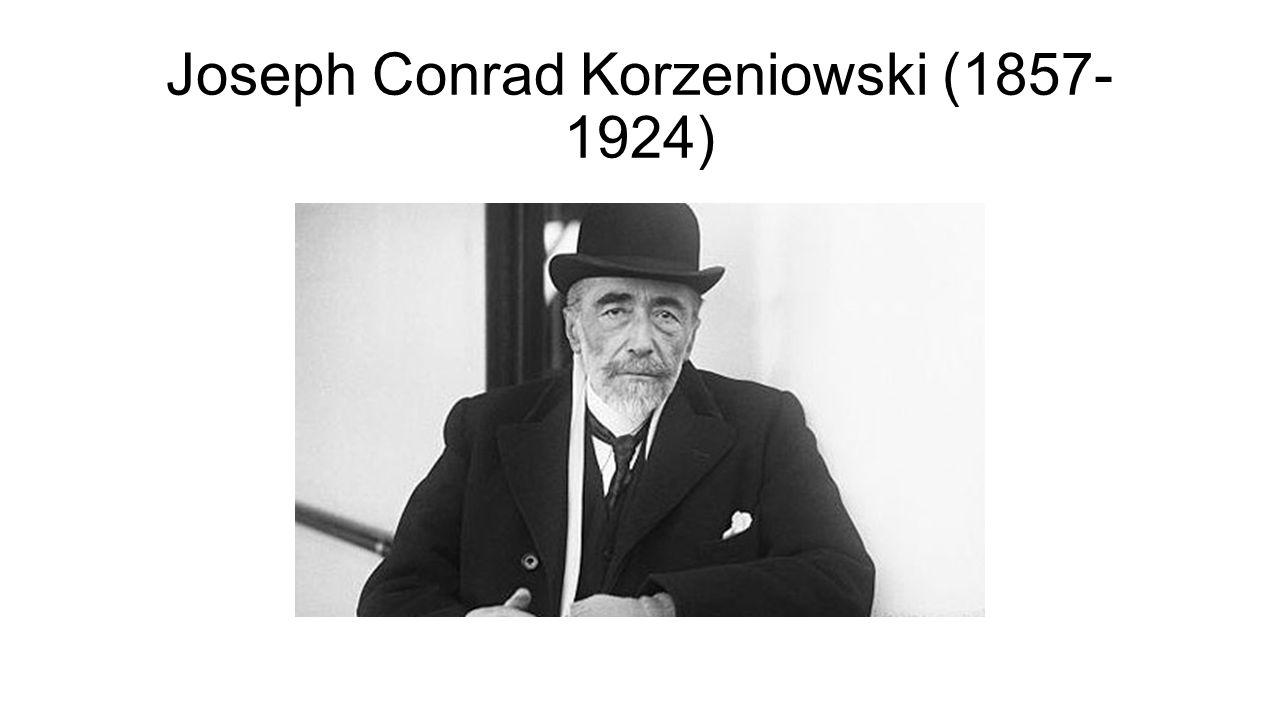 Joseph Conrad Korzeniowski (1857- 1924)