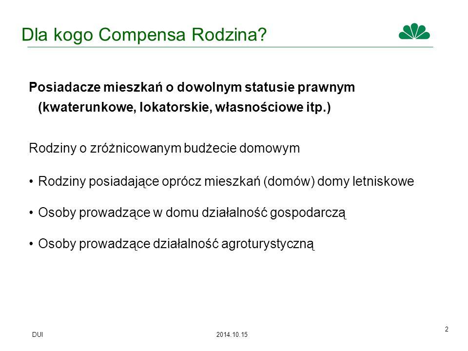 DUI 2014.10.15 3 Dlaczego Compensa Rodzina.