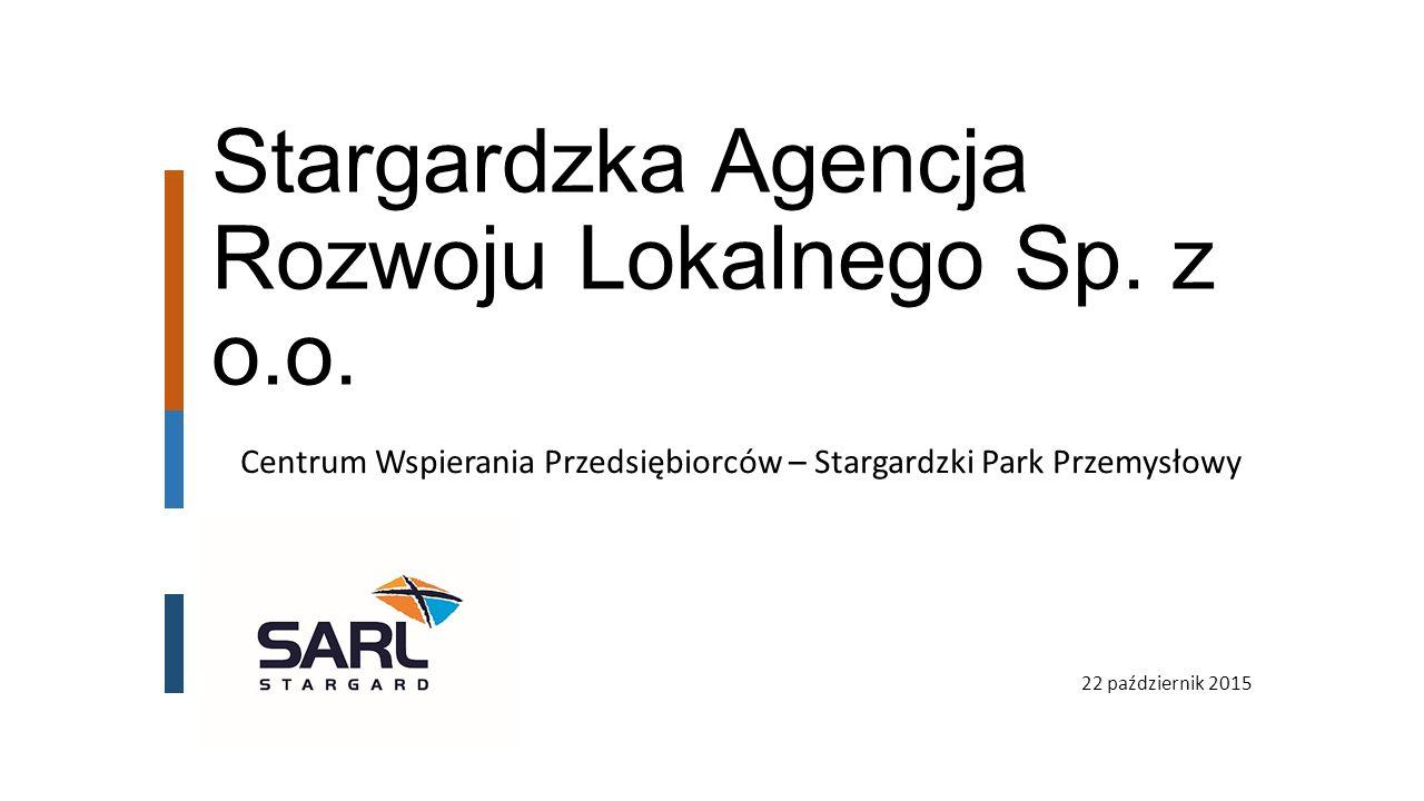 Stargardzka Agencja Rozwoju Lokalnego Sp. z o.o.
