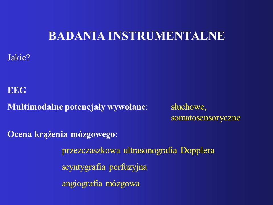 BADANIA INSTRUMENTALNE Jakie.