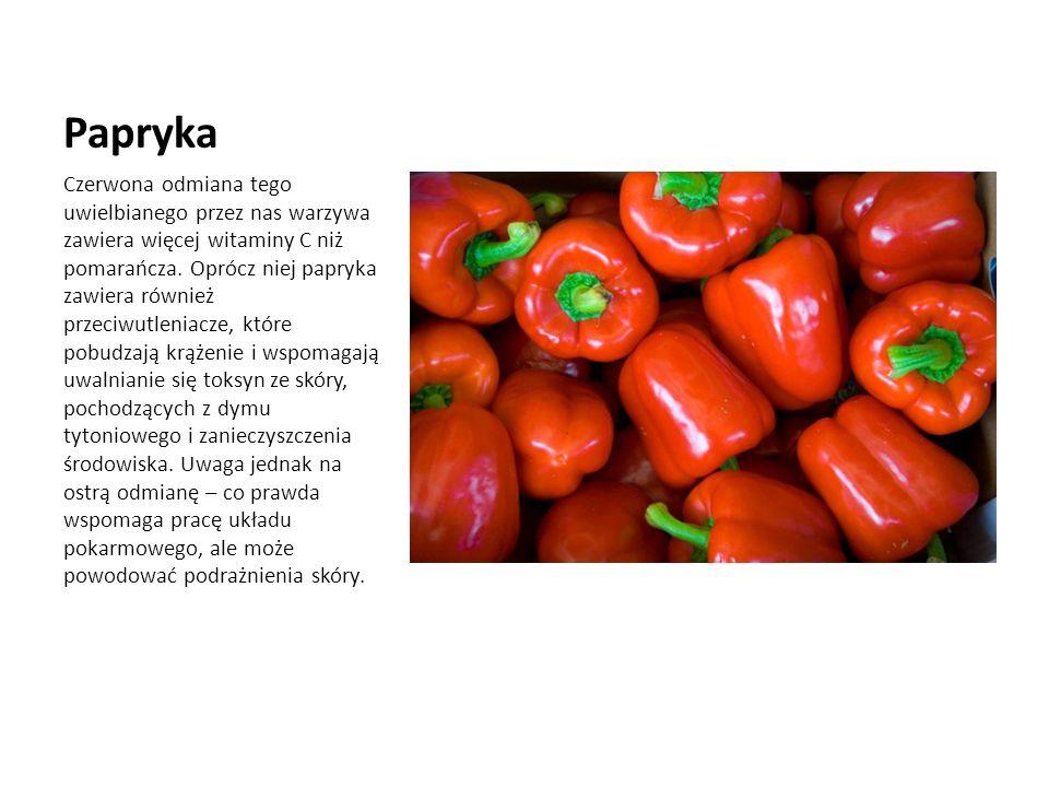 Papryka Czerwona odmiana tego uwielbianego przez nas warzywa zawiera więcej witaminy C niż pomarańcza.