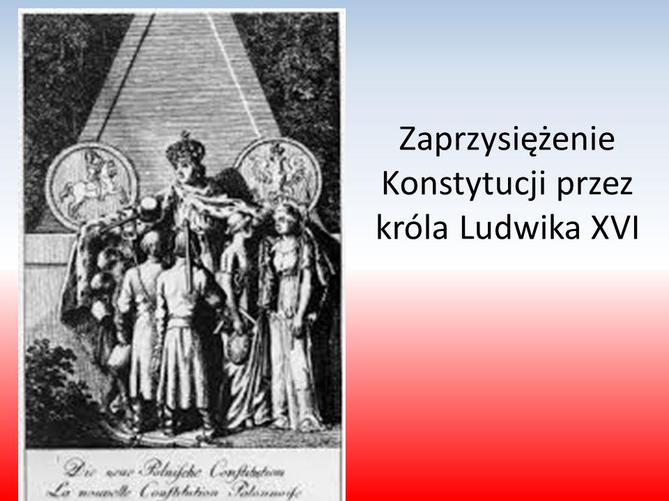 Zaprzysiężenie Konstytucji przez króla Ludwika XVI