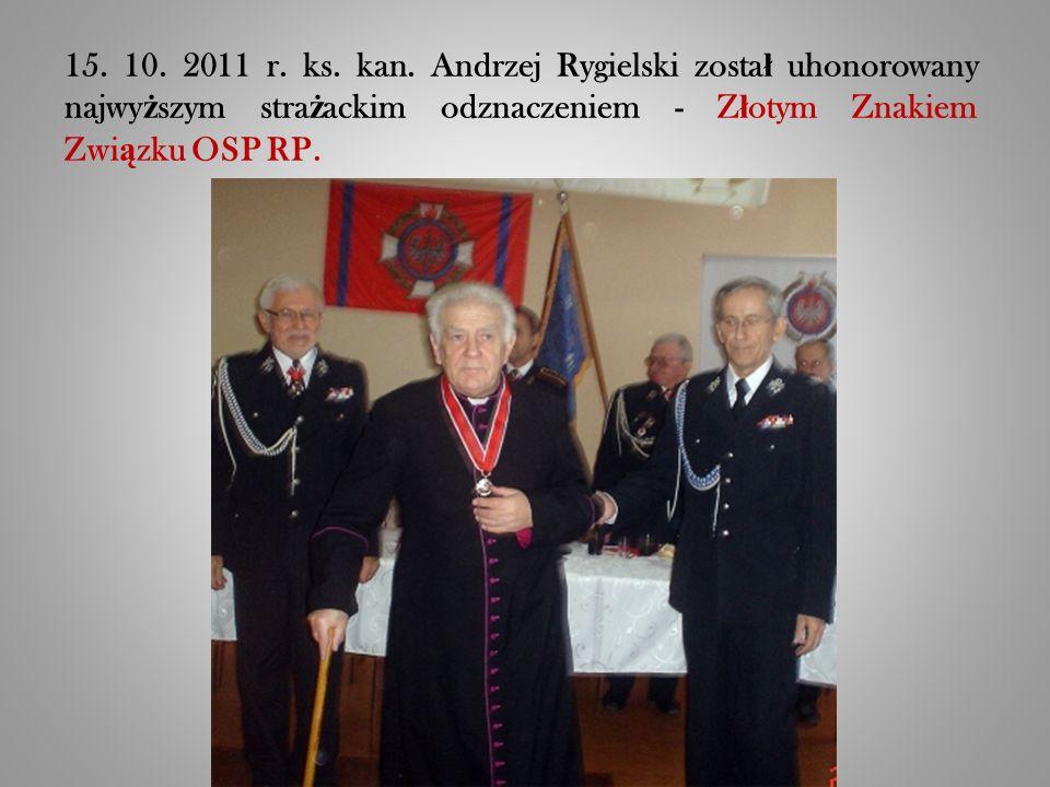 15. 10. 2011 r. ks. kan.