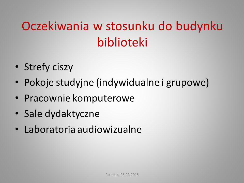 Wypożyczalnia Wolny dostęp do 28 tys. woluminów Rostock, 25.09.2015