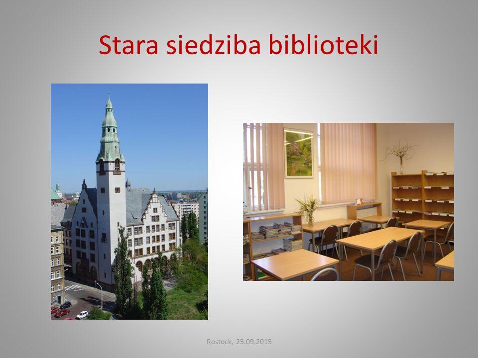 Stara siedziba biblioteki Rostock, 25.09.2015