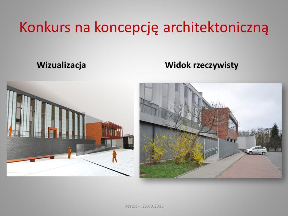 Konkurs na koncepcję architektoniczną WizualizacjaWidok rzeczywisty Rostock, 25.09.2015