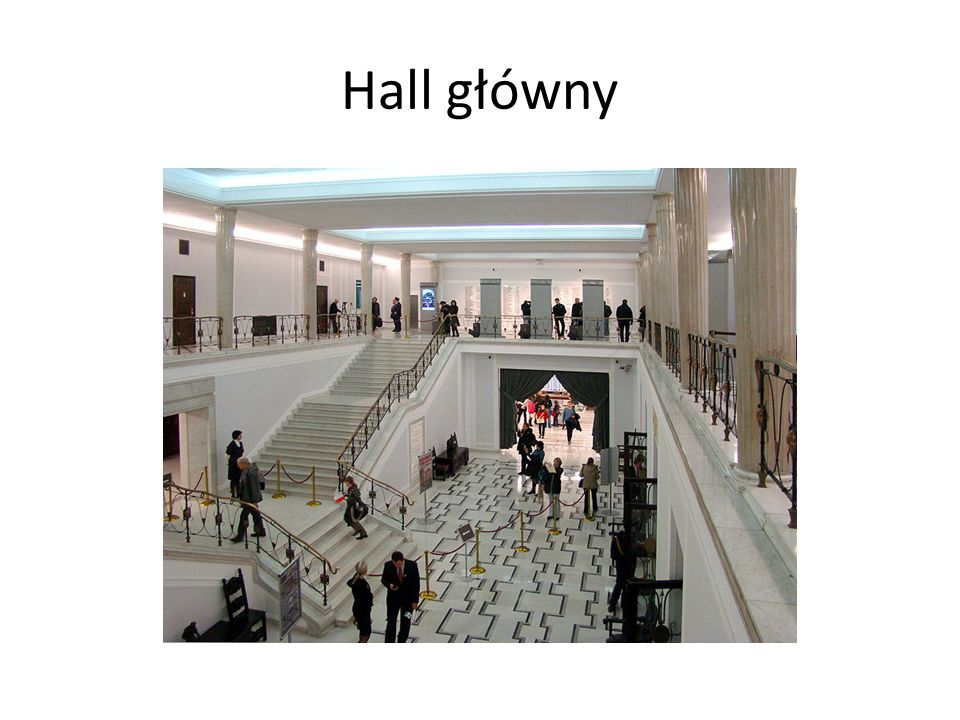 Hall główny