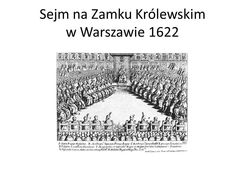 Sejm na Zamku Królewskim w Warszawie 1622