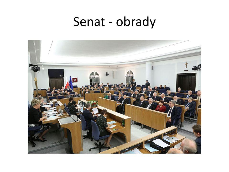 Senat - obrady