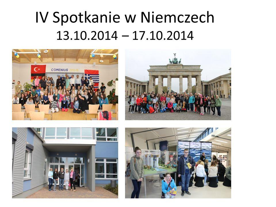 IV Spotkanie w Niemczech 13.10.2014 – 17.10.2014