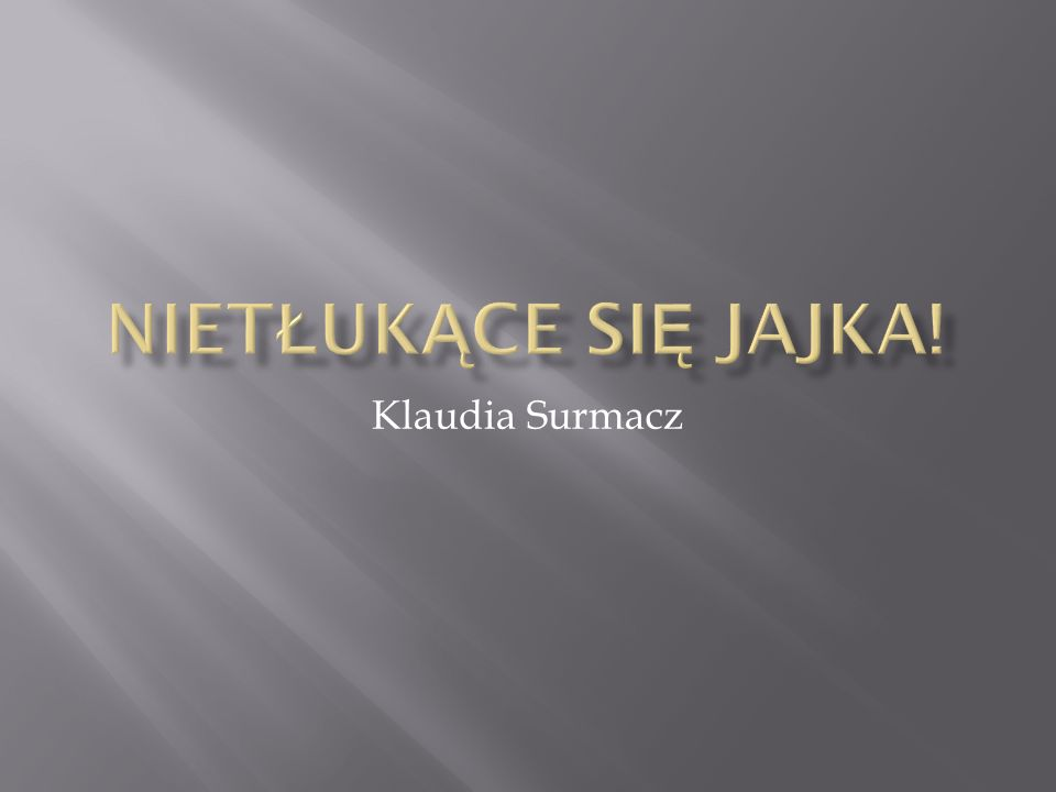 Klaudia Surmacz