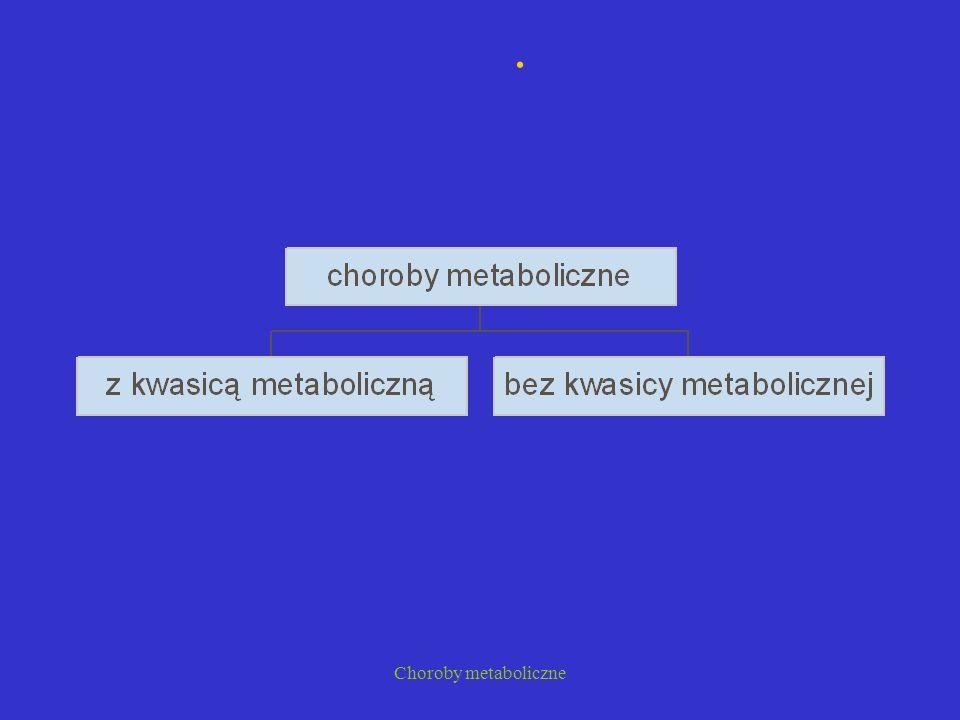 Choroby metaboliczne Choroby lizosomalne Mukopolisacharydozy Mukolipidozy Lipidozy Sulfatydozy Gangliozydozy Glikoproteinozy