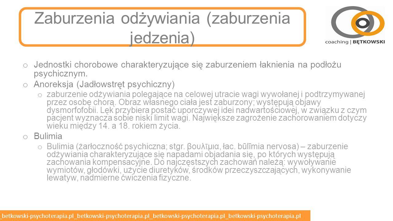 betkowski-psychoterapia.pl_betkowski-psychoterapia.pl_betkowski-psychoterapia.pl_betkowski-psychoterapia.pl_betkowski-psychoterapia.pl Pacjent z zaburzeniami somatycznymi nieuzasadnionymi w opinii lekarza o Konwersja (zaburzenia dysocjacyjne) o Somatyzacja o Mechanizm obronny charakteryzujący się obecnością dolegliwości sugerujących obecność choroby somatycznej (pozapsychiatrycznej) przy równoczesnym braku innych przesłanek chorobowych w badaniach laboratoryjnych, obrazowych i badaniu fizykalnym.