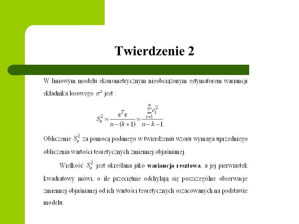 Twierdzenie 2