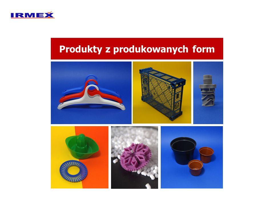 Produkty z produkowanych form