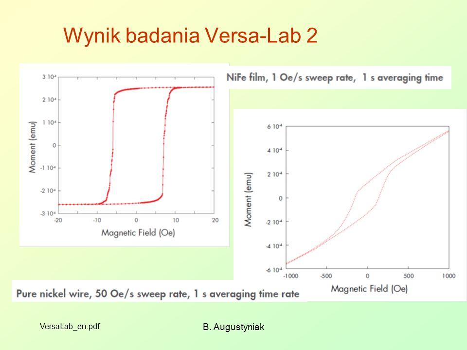 B. Augustyniak Wynik badania Versa-Lab 2 VersaLab_en.pdf