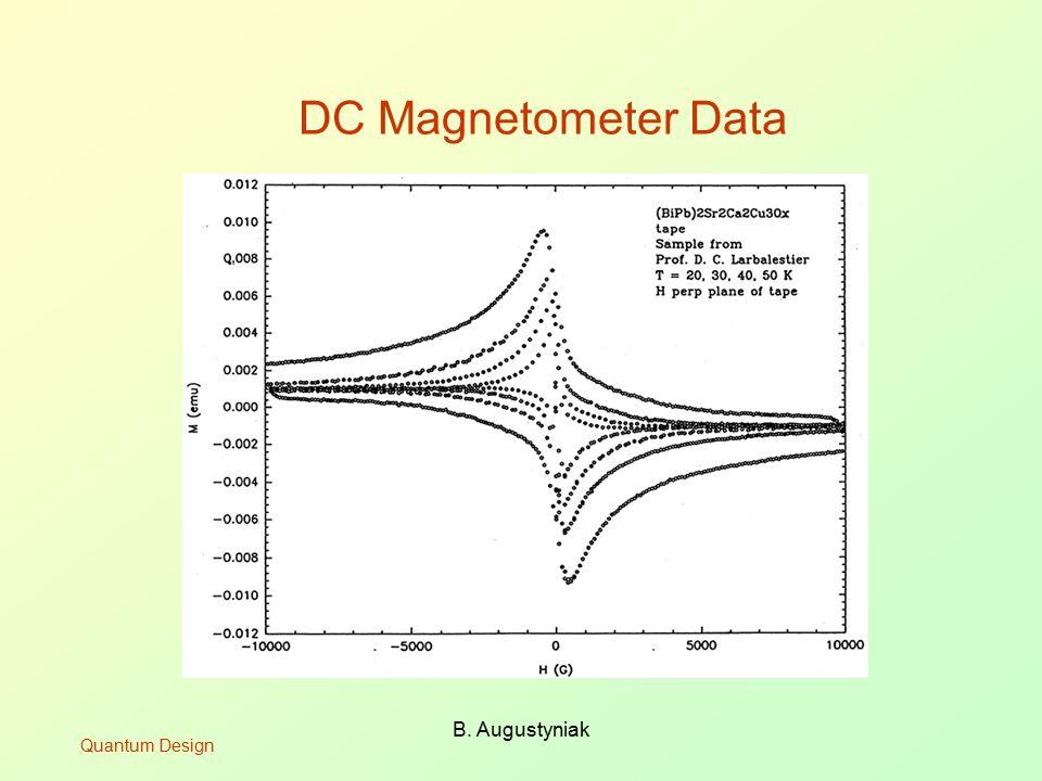 B. Augustyniak DC Magnetometer Data Quantum Design