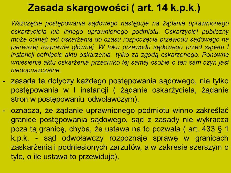 Zasada skargowości ( art.
