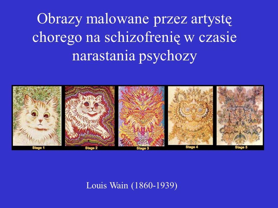 Louis Wain (1860-1939) Obrazy malowane przez artystę chorego na schizofrenię w czasie narastania psychozy