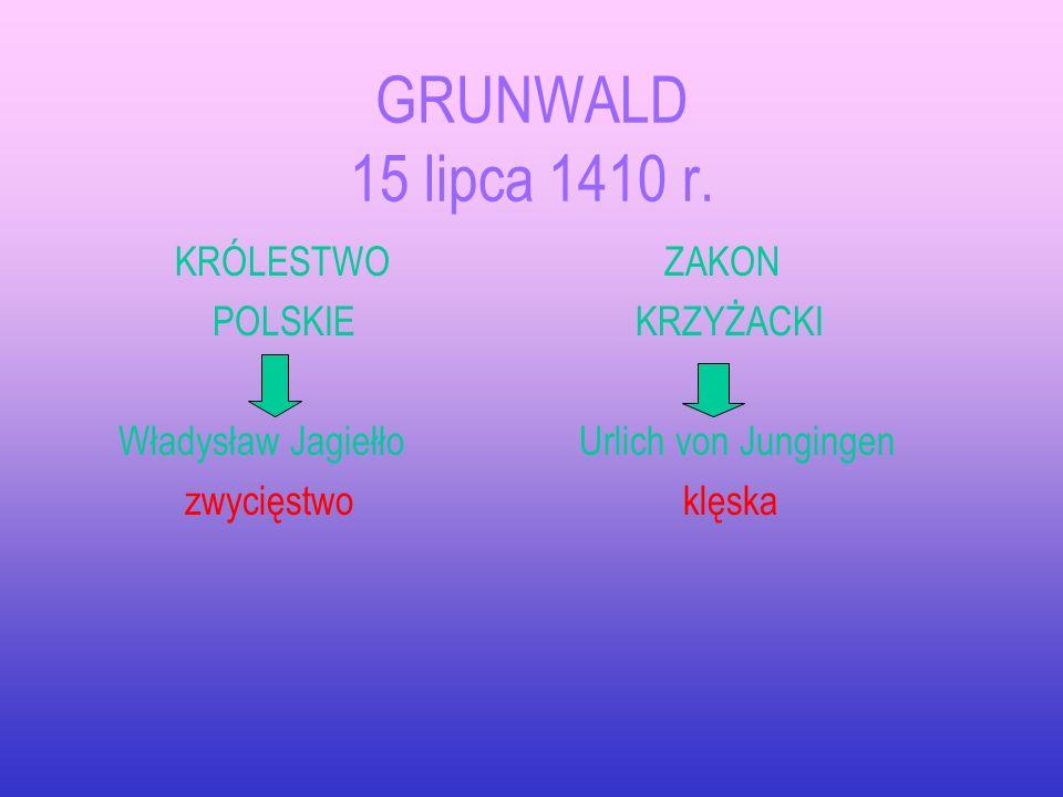 KORONA I LITWA w XV w. mapka