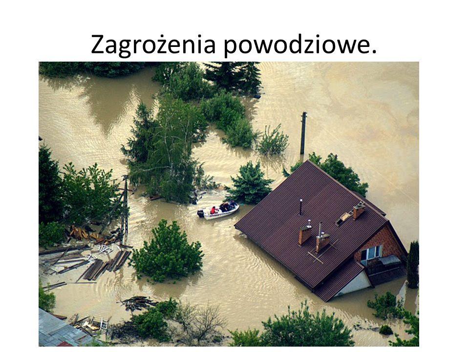 Zagrożenia powodziowe.
