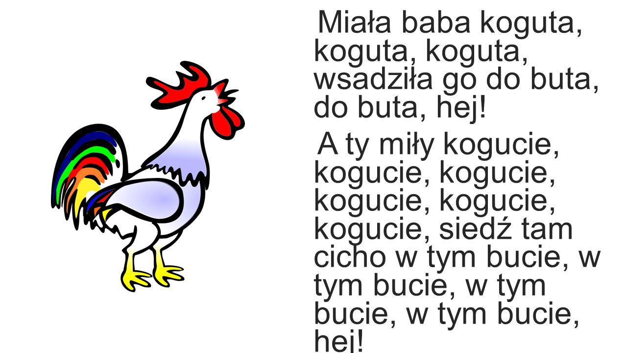 Biesiadne – Miała Baba Koguta KARAOKE