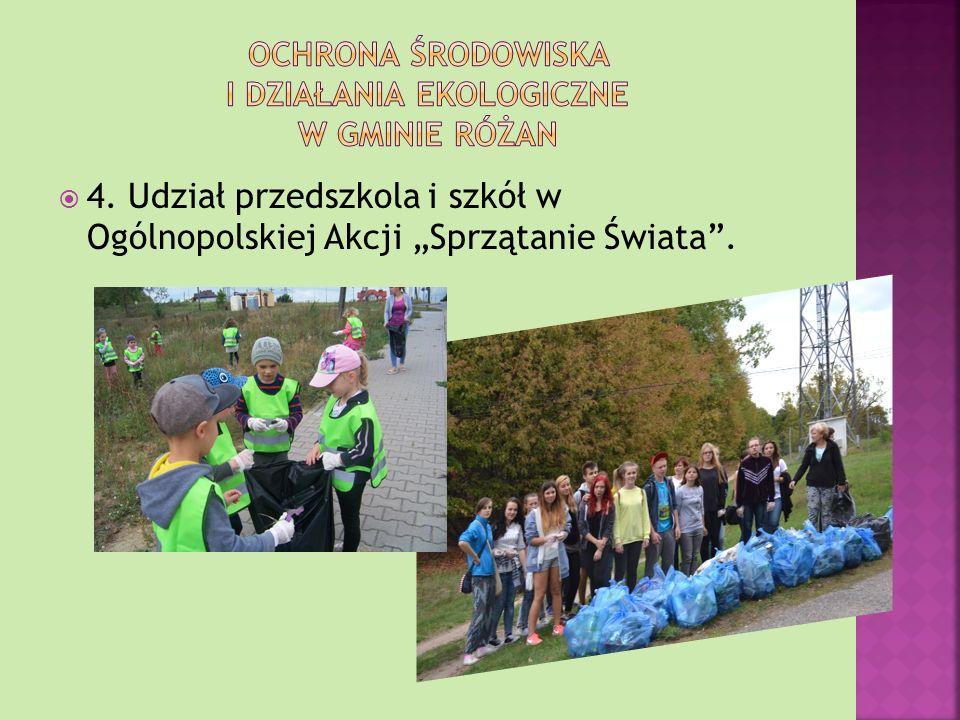 2. Przebudowa i modernizacja oczyszczalni ścieków zgodnie z normami Unii Europejskiej. 3. Segregacja odpadów komunalnych.