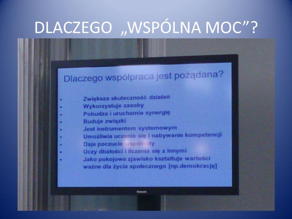 """DLACZEGO """"WSPÓLNA MOC"""