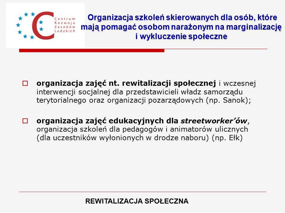  organizacja zajęć nt.