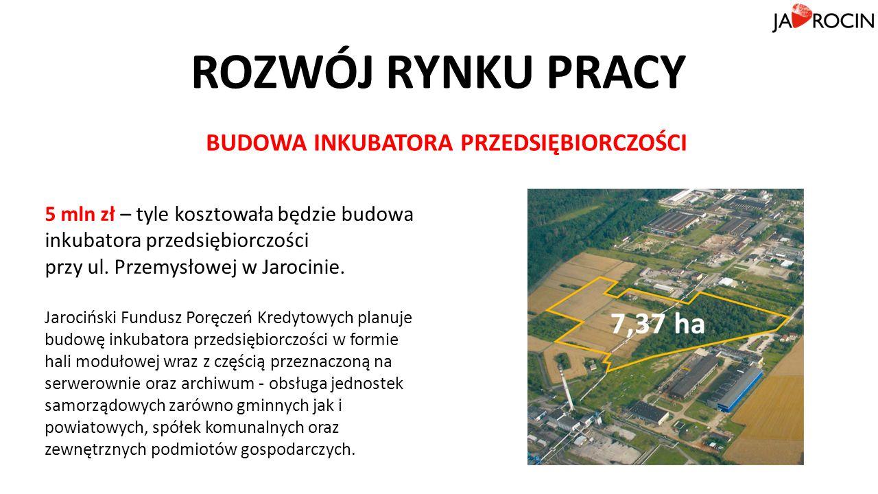 ROZWÓJ RYNKU PRACY 5 mln zł – tyle kosztowała będzie budowa inkubatora przedsiębiorczości przy ul.
