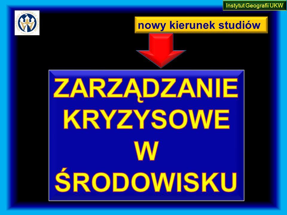 nowy kierunek studiów Instytut Geografii UKW
