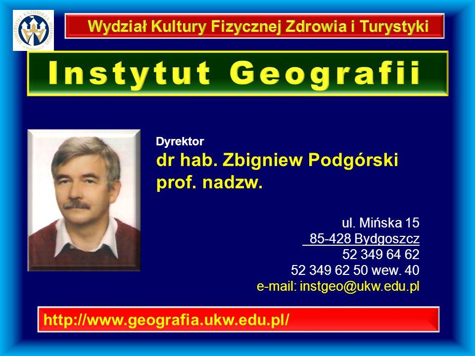 Instytut Geografii Instytut Geografii ul.Mińska 15 http://geoportal.gov.pl/start ul.