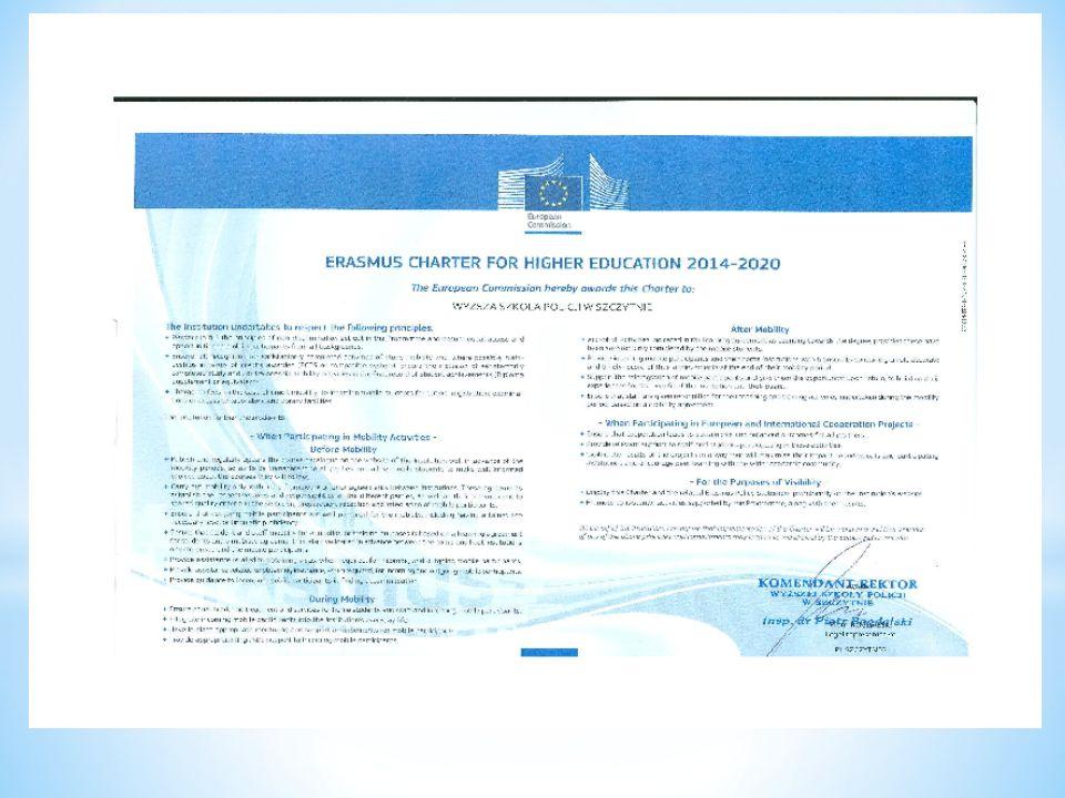 Po powrocie: Przekazanie koordynatorowi programu dokumentacji (zaświadczenie o długości pobytu i zrealizowaniu planu, podpisany przez przedstawiciela instytucji przyjmującej indywidualny plan szkolenia lub nauczania, bilety z widoczną datą), Wypełnienie ankiety on-line, Sporządzenie sprawozdania z wyjazdu.