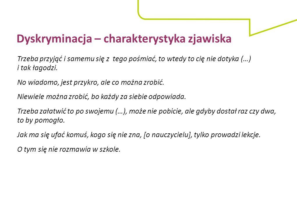 """Małgorzata Dymowska Towarzystwo Edukacji Antydyskryminacyjnej (TEA) www.tea.org.pl m.dymowska@tea.org.pl FB """"Szkoła Równości Dziękuję za uwagę!"""
