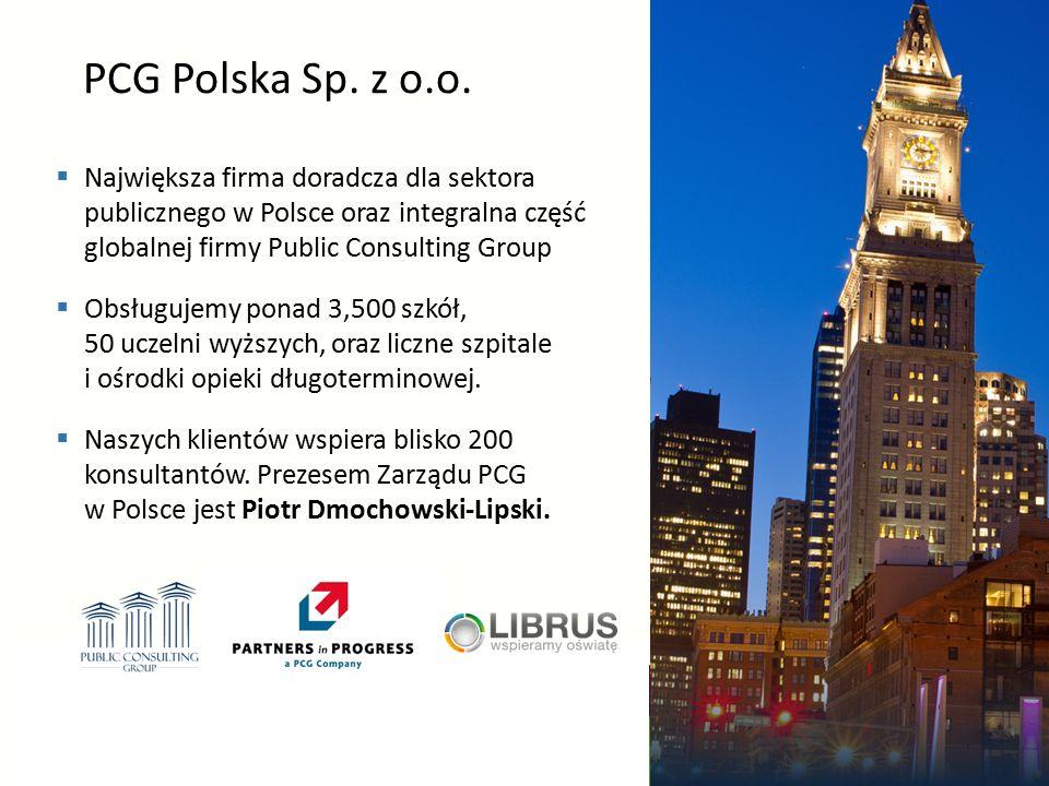 13 www.lumen.edu.pl | Tel: (22) 53 53 712 | E-mail: info@lumen.edu.pl PCG Polska Sp.