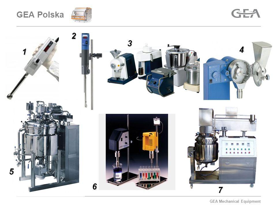 GEA Mechanical Equipment Homogenizator lab.