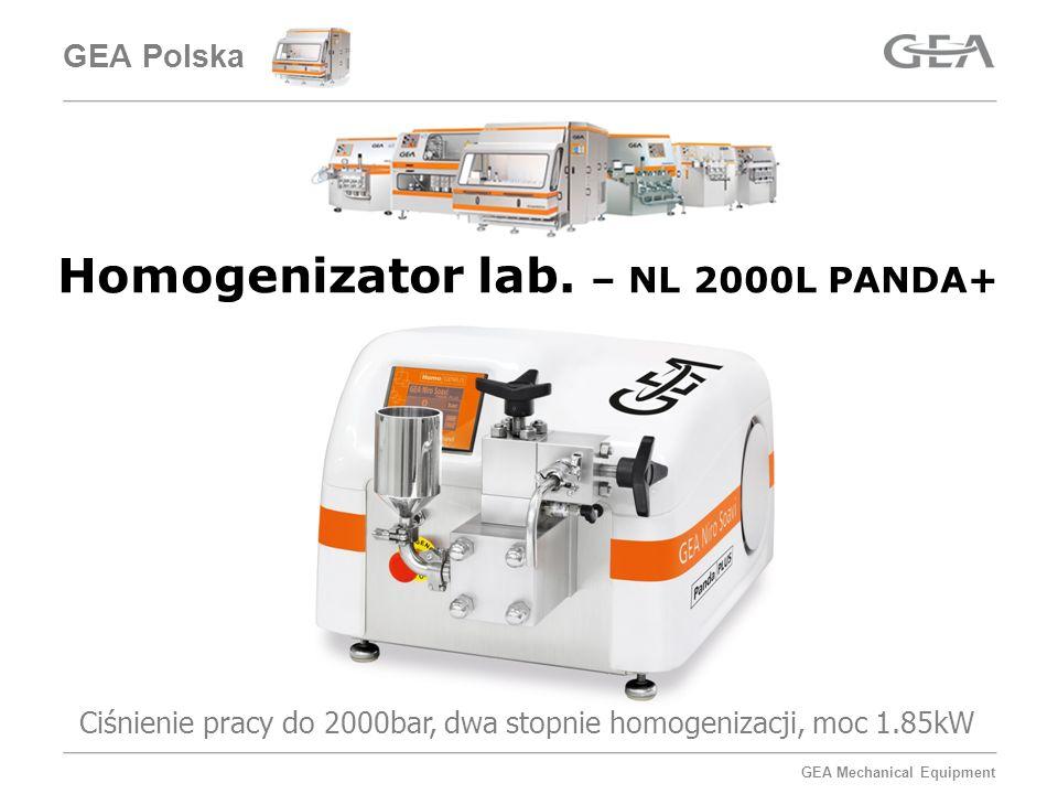 GEA Mechanical Equipment Technologia – homogenizacji wysokich ciśnień Główną zasadą Homogenizacji Wysokociśnieniowej (co jest też jej zaletą) jest mieszanie różnych substancji, połączone z redukcją rozmiarów cząstek fazy rozproszonej.