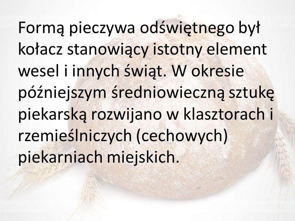 Zboże wysokiej jakości trafia do młynów, gdzie wyrabia się z niego mąkę.
