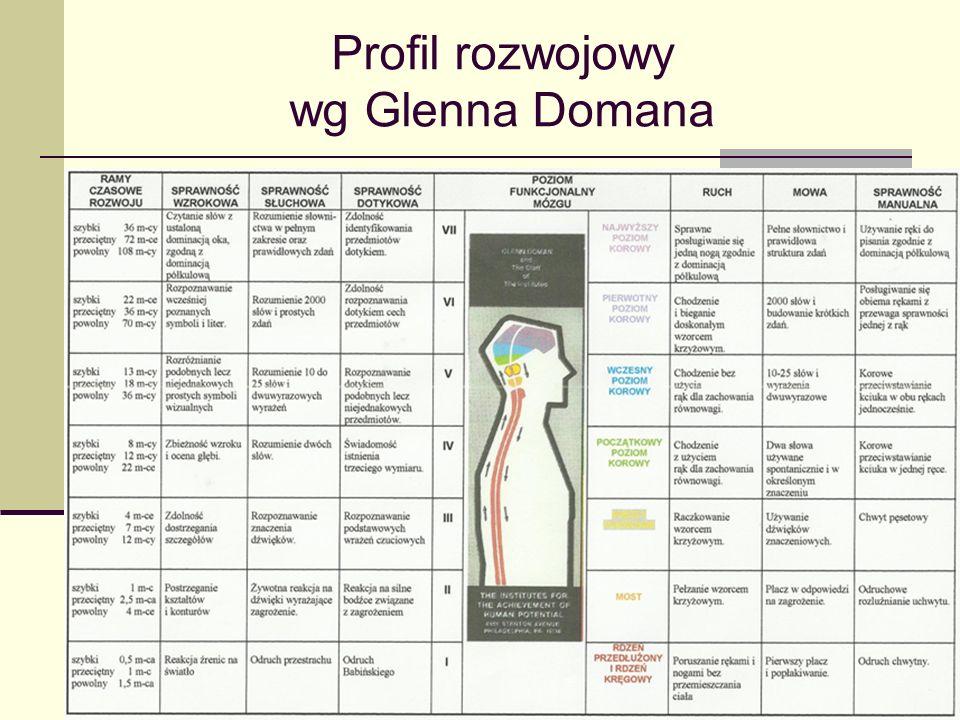 Profil rozwojowy wg Glenna Domana