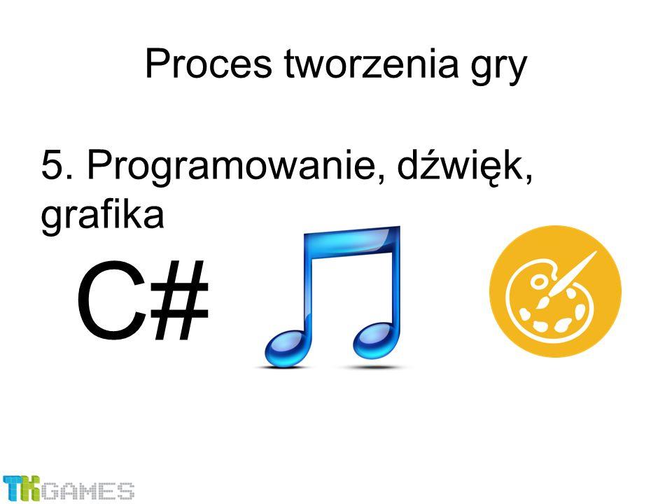 5. Programowanie, dźwięk, grafika Proces tworzenia gry C#