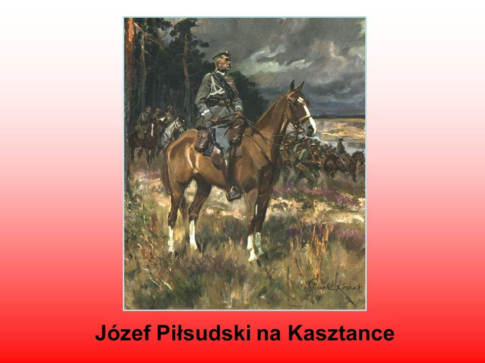 Józef Piłsudski na Kasztance