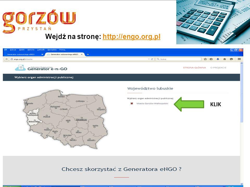 Wejdź na stronę: http://engo.org.plhttp://engo.org.pl KLIK